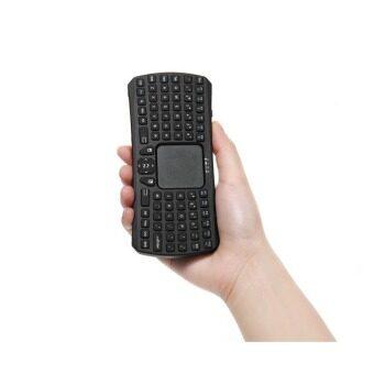 SEENDA Mini Bluetooth Touchpad Keyboard for Intelligent TV Tablet Mobile Phones(Black)(INTL)