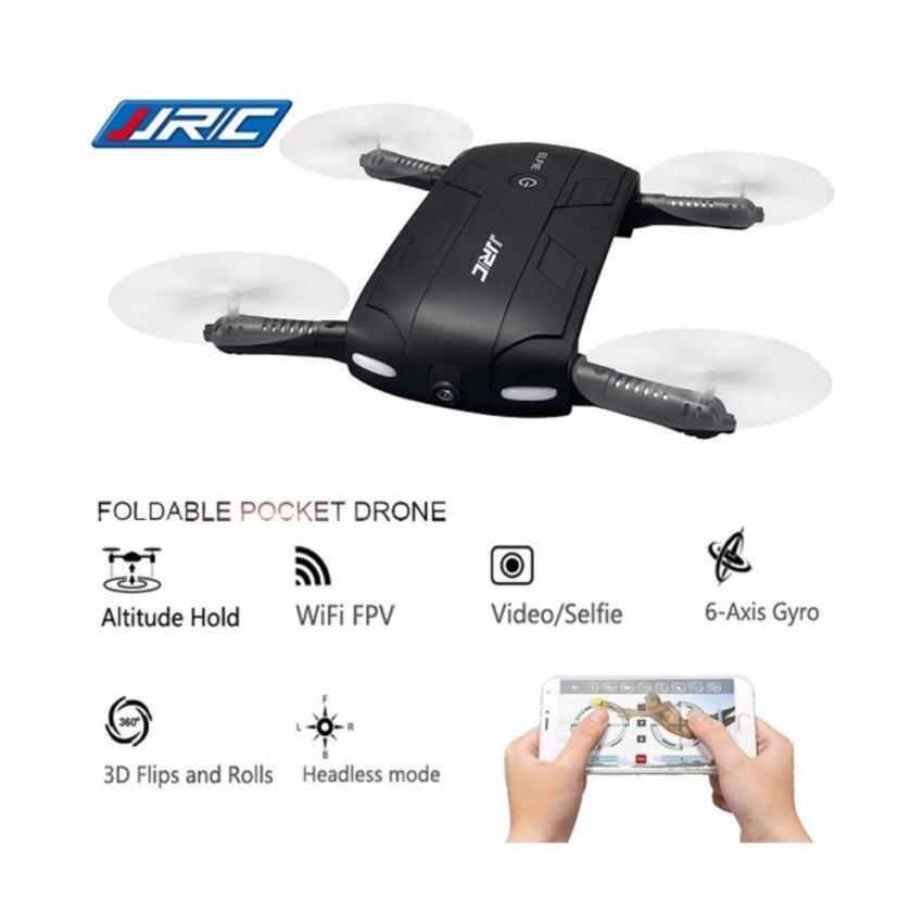 SELFIE DRONE RC113 โดรนจิ๋วพับได้ ใส่กระเป๋า/ โดรนเซลฟี่ บินนิ่ง ถ่ายวีดีโอ HD2 ล้านกล้องปรับมุมได้ ภาพนิ่ง บินตามคำสั่งด้วยเสียงได้ ควบคุมด้วยโทรศัพท์มือถือ 2.4GHz 6 axis FPV เชื่อมต่อ WIFI