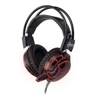 SIGNO E-Sport หูฟังเกมส์มิ่ง Centaur 7 LED รุ่น HP-804 (สีดำ)