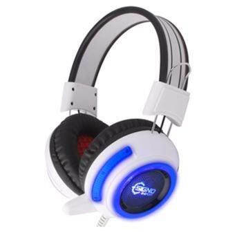 ซื้อ/ขาย SIGNO HEADSET HP-805 (WHITE+BLUE)