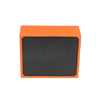 Silicone Protective Sleeve Case Skin Cover for JBL GO Portable Wireless Bluetooth Speaker in Orange - intl