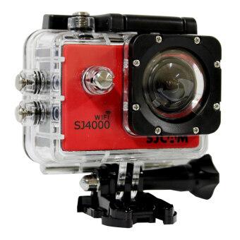 SJ CAM กล้อง แอ็คชั่น ไวไฟ รุ่น SJ-4000 (สีแดง)