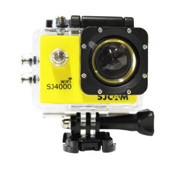 SJ CAM กล้อง แอ็คชั่น ไวไฟ รุ่น SJ-4000 (สีเหลือง)