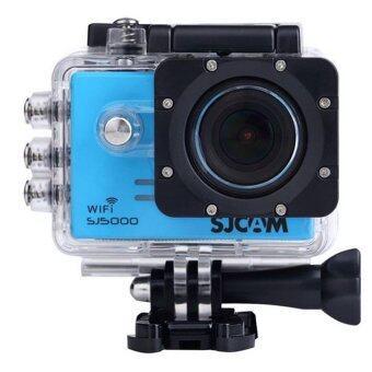 SJ CAM กล้อง แอ็คชั่น ไวไฟ รุ่น SJ-5000 (Blue)