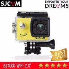 Sjcam Sj4000 Wi-Fi 12mp Model 2016เมนูภาษาไทย(yellow) ราคา 2,350 บาท(-26%)