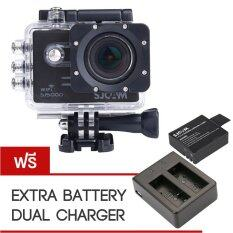 Sjcam Sj5000 Wifi With Extra Battery And Dual Charger - สีดำ ราคา 4,190 บาท(-40%)
