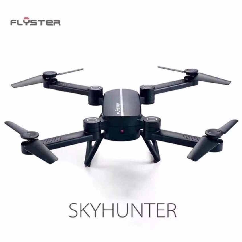 Sky Hunter Foldable Rc Selfie Drone with Wifi FPV 0.3MP HD Camera Altitude Hold Headless Mode RC Quadcopter Drone (One Battery)