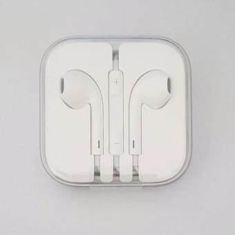 หูฟัง สมอทอล์คแท้ Small talk iPhone 5 แท้ Original iPhone (สีขาว)