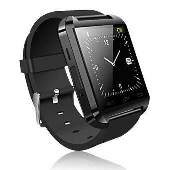 Smart Watch U80 Bluetooth Wireless Connect for Android Smart Device(Black) + Jabra Bluetooth Headset - intl