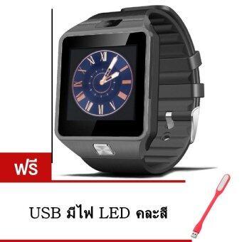2561 Smart Watch Z าฬิกาโทรศัพท์ Smart Watch รุ่น A9 Phone Watch (Black) แถมฟรี USB มีไฟ LED (คละสี)