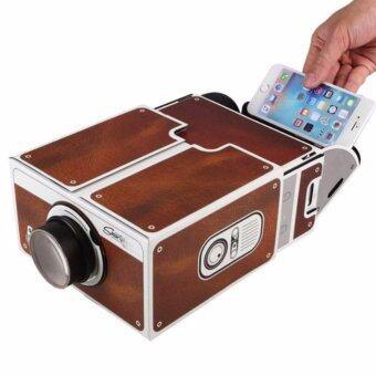 ราคา Smartphone Projector 2.0 DIY Mobile Phone Portable Cinema for Smart Phone - INTL