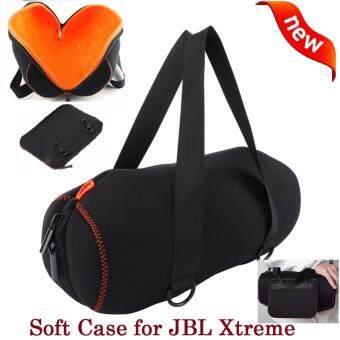 Soft Case for JBL Xtreme กระเป๋าพกพา มีหูหิ้วป้องกันรอยขีดข่วน/ข้างในเป็นผ้ากำมะหยี่หนา/กันกระแทก สำหรับ JBL Xtreme สวย ทน เบา รับประกัน 1 เดือน แถมฟรี กระเป๋าเล็กลำหรับเก็บเก็บอุปกรณ์ชาร์จ มูลค่า 159 บาท.