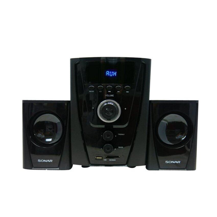 IQ Sonar ชุดลำโพงบลูทูธ Bluetooth Speaker 2.1CH รุ่น CX-500ฟังก์ชั่นล้ำสมัย ให้เสียงที่ทรงพลัง