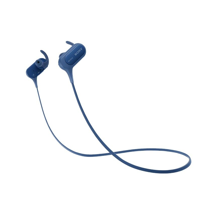 Sony หูฟังอินเอียร์สปอร์ตแบบไร้สาย รุ่น EXTRA BASS™ XB50BS (สีน้ำเงิน)