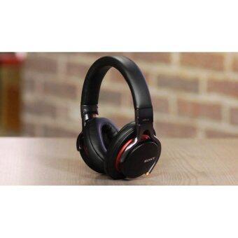 SONY MDR-1A/BQ หูฟังStereo headphones รุ่น Premium Hi-Res สี Black-Red