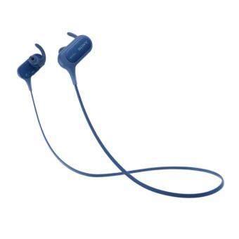 SONY MDR-XB50BS หูฟัง Bluetooth ไร้สายออกกำลังกายกันน้ำ (Blue)