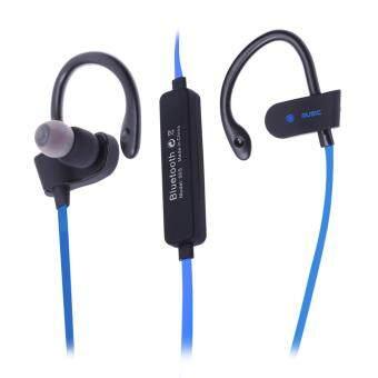 Sport Bluetooth 4.1 Wireless Stereo Sweatproof Earphone (Blue) - intl
