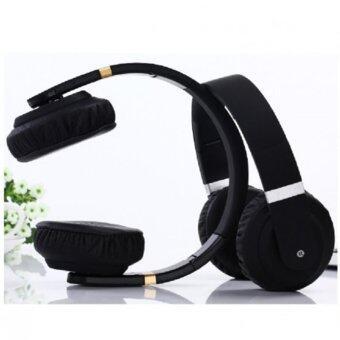 ประเทศไทย SPORT Wireless Bluetooth 4.2 Headphones HIFI Bass Stereo Headsets earbuds with Mic Fashion Folding Sport Earphone for iPhone Samsung