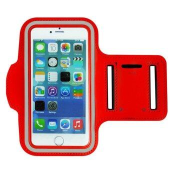 Sports Armband Exercise holder Case Cover Sport Arm Band For iPhone 6plus/6splus 5.5inch(Red) - INTL
