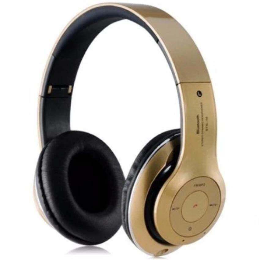 หูฟังแบบครอบหู บลูทูธ ไร้สาย รุ่น STN-16 Bluetooth Stereo Headset-สีดำ image