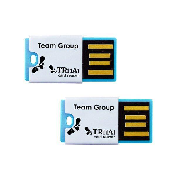 Team Group USB Card Reader for MicroSD 2 pcs ( 2 ชิ้น ) - Blue/Blue ...