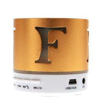 2561 TECFON Speaker Bluetooth (SP-946) Gold