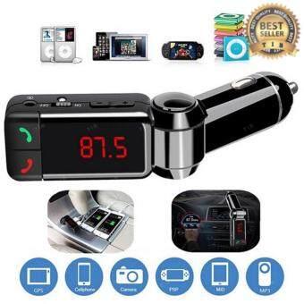 2561 tib ของแท้100%BC06 Bluetooth Car FM Transmitter รถพร้อมด้วย Dual USB 2A สายในพอร์ตชาร์จรถ MP3