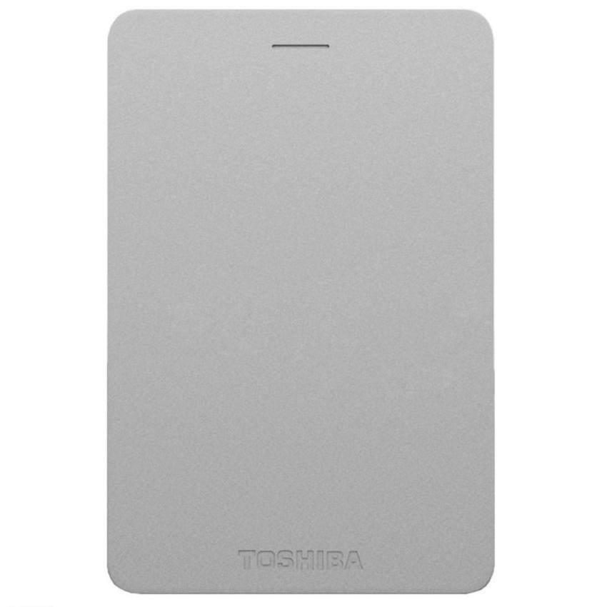 Toshiba HDD Ext 1TB Canvio Alumy - Silver (HDTH310YS3AA)