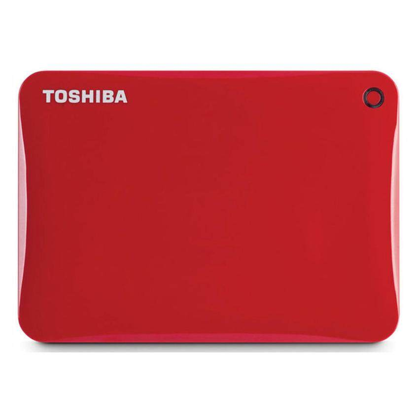 Toshiba HDD Ext 1TB Canvio Connect II 3.0 V8 Red (HDTC810AR3A1)