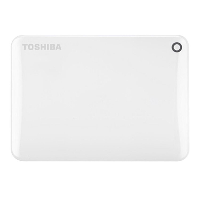 Toshiba HDD Ext 1TB Canvio Connect II 3.0 V8 White (HDTC810AW3A1)