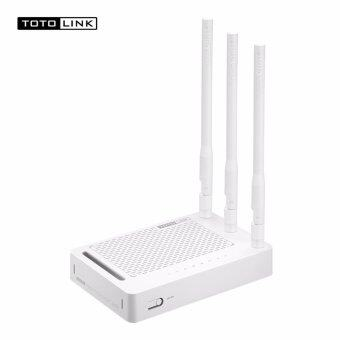 TOTOLink Lifetime Warranty By King I.T. N302R Plus Wireless N Router ความถี่ 2.4GHz 300Mbps, 4 Port Lan 100Mbps รองรับ Repeater