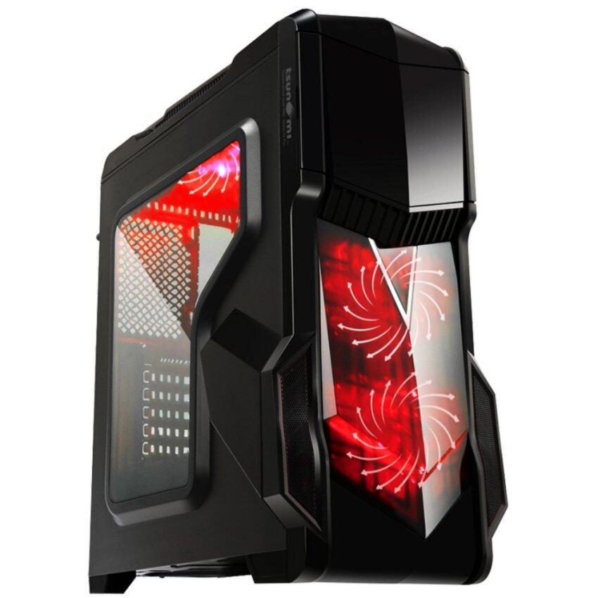 Tsunami Pro Hero K1 Series USB 3.0 Gaming Case (with 15 PCS LED 12 CM Fan X 4) KR