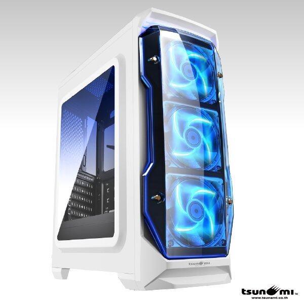 Tsunami X STORM USB 3.0 Gaming Case (with LED 12 CM Fan X 3) WB