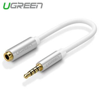 UGREEN 3.5มม.หูฟังแยกเสียงเคเบิลเข้ากันได้กับ iPhone 6 6s สำหรับ Samsung S7 S6 Edge