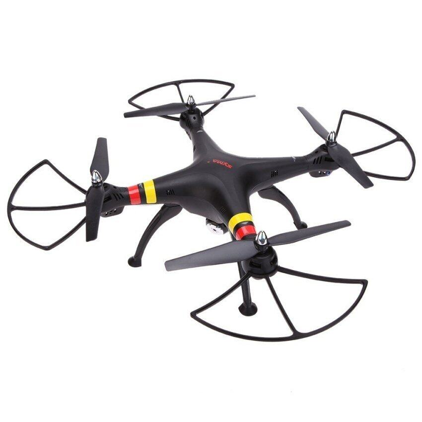 Uni เครื่องบินโดรนบังคับพร้อมกล้องSyma Drone X8C Venture New Package 4CH 2.4GHz 6 Axis RC Quadcopter with HD Camera (Black)