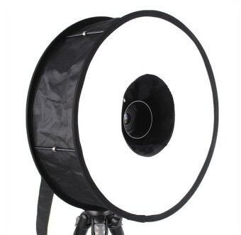 "Universal 18"" 46cm Easy-fold Ring Flash Softbox Diffuser Reflector"
