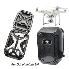 Upgraded Hardshell Backpack Waterproof Shoulder Bag Carrying Case For Dji Phantom 4/ 4 Pro/ 3 Standard/ Professional/ Advanced(carbon Grain) - Intl ราคา 1,675 บาท(-50%)