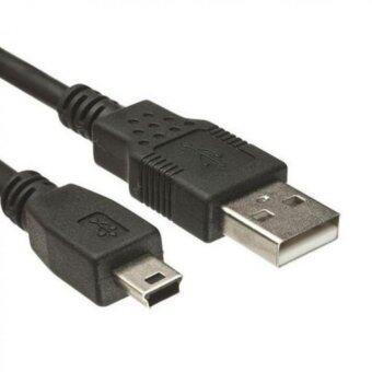 สาย USB Am to mini USB 5pin V2.0 ยาว 1.5M (สีดำ)
