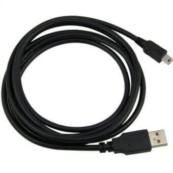 สาย USB Am to mini USB 5pin V2.0 ยาว 1.8M (สีดำ)