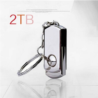USB Flash Drive 2TB Waterproof USB 2.0 Metal Flash Memory Stick Pen Drive Storage Thumb U Disk