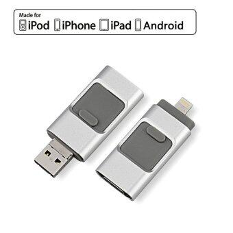 USB Flash Drive 64GB Memory Stick For iPhone Samsung Android MicroUSB OTG External Storage
