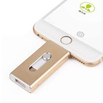 Usb Flash Drive For iPhone 7/7plus/6/6s Plus/5s/5/5c/Ipad Micro Mobile OTG Pendrive 64GB - intl