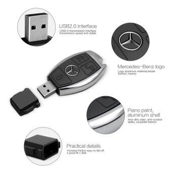 usb flash drive Mercedes-Benz pen drive 64gb pendrive car keys U disk USB 2.0 USB storage drive - intl