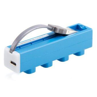 USB-HUB02 Usb Hub 4 USB Power Charging (Blue)