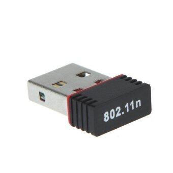 USB Mini WiFi Wireless Adapter Network Card 802.11n 150M
