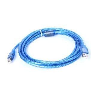 สาย USB TO Printer USB 2.0 ยาว 5 M (สีฟ้า)