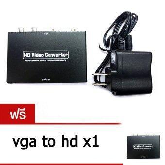 ตัวแปลงสัญญาณ VGA TO HDMI CONVERTER with audio มีเสียงด้วย