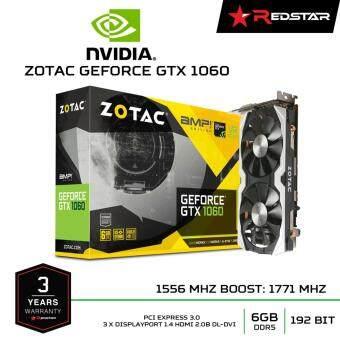 VGA ZOTAC GEFORCE GTX 1060 6GB GDDR5