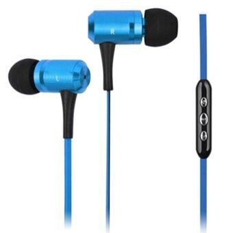 Vococal Amazing Sound Earphone With Mic For Samsung Galaxy S5 Note 3 iPhone 5S Blue