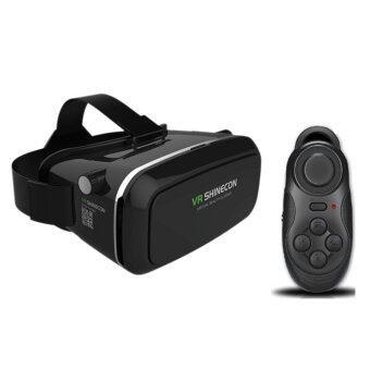 VR Shinecon แว่นตา 3 มิติเสมือนจริง (Black)